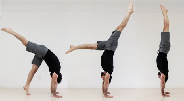 how to do a handstand for beginners handstanding steps