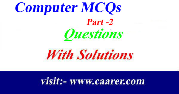 Computer MCQs Part -2