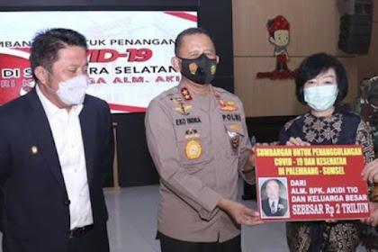 Antiklimaks: Mau Nyumbang 2 T, Berujung Keluarga Akidi Tio Tersangka Penipuan