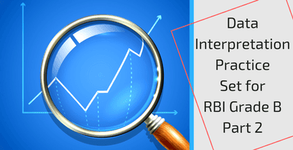 Data Interpretation Practice Set for RBI Grade B - Part 2