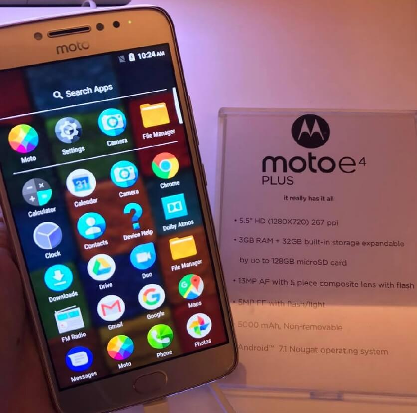 Moto E4 Plus Now in the Philippines for Php8,999; Boasts 5000mAh Battery