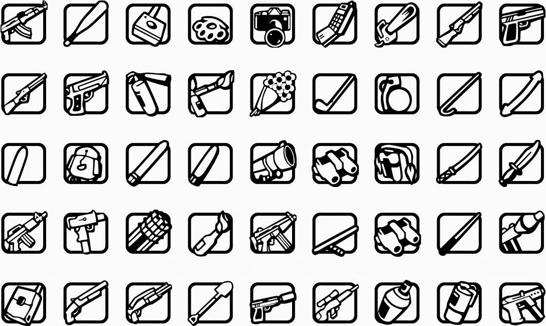 [PL] Mods By CML99: [REL][SA] HD Weapon Icons