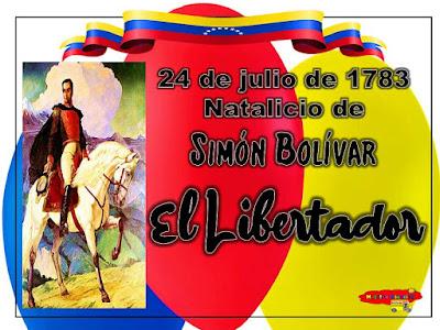 El Libertador SIMÓN BOLÍVAR.
