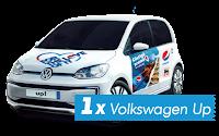 Castiga o masina Volkswagen Up Pure White - concurs - mega - image - pepsi - autoturism - premiu - castiga.net
