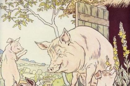 Kisah Dongeng Tiga Babi Kecil (Three Little Pigs)