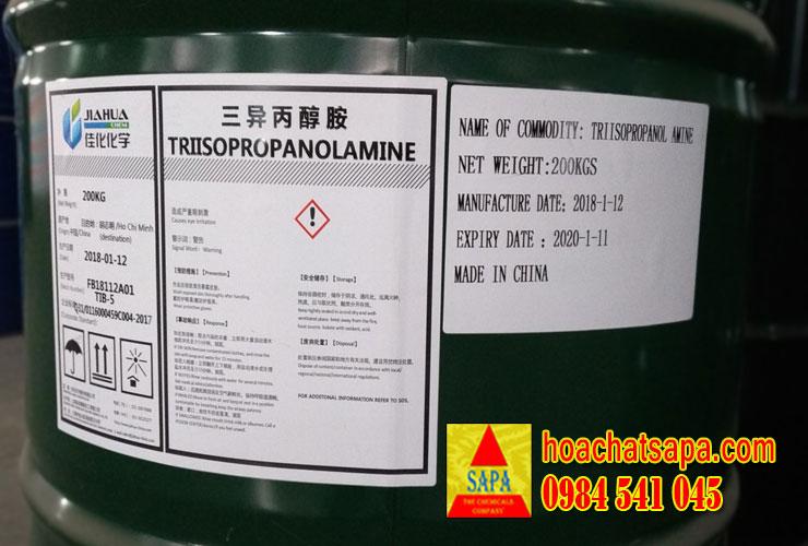 Triisopropanolamine (TIPA) - chất trợ nghiền xi măng