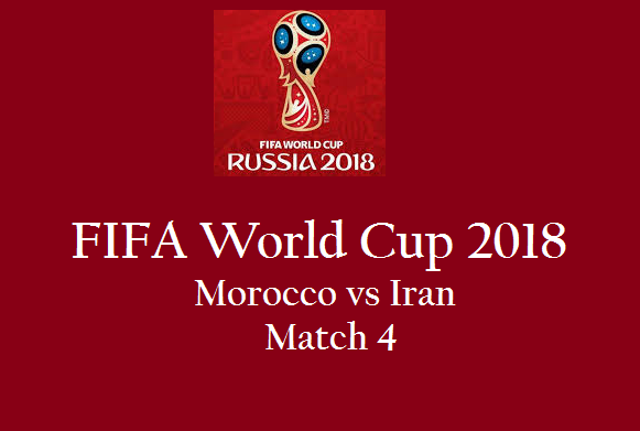 Live Streaming Morocco vs Iran Match 4 Online FIFA WC 2018 - 8d2fe6037951a