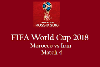 Live streaming Morocco vs Iran match 4