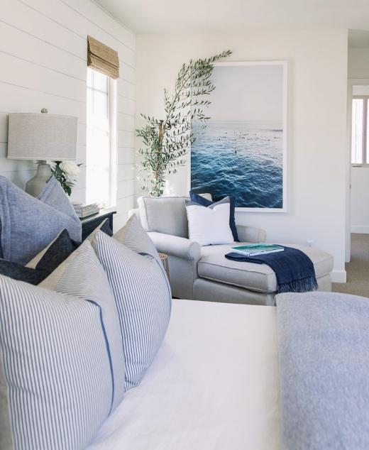Blue Ocean Art Bedroom Ideas