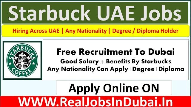 Starbucks Hiring Staff In UAE  2021