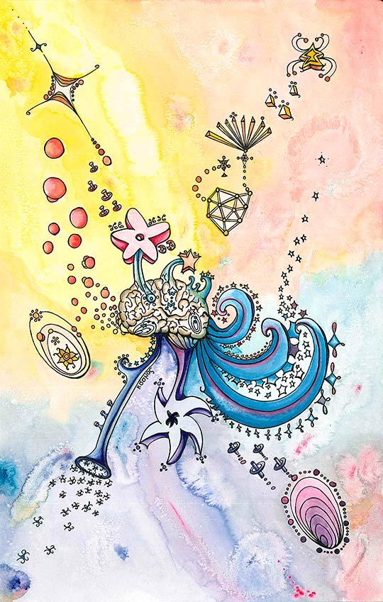 Ilustración de Alberto Ariza aka Armatrostes