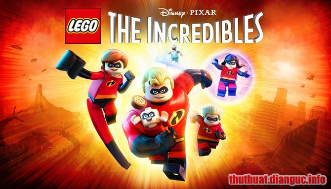 Download Game LEGO® The Incredibles Full Crack