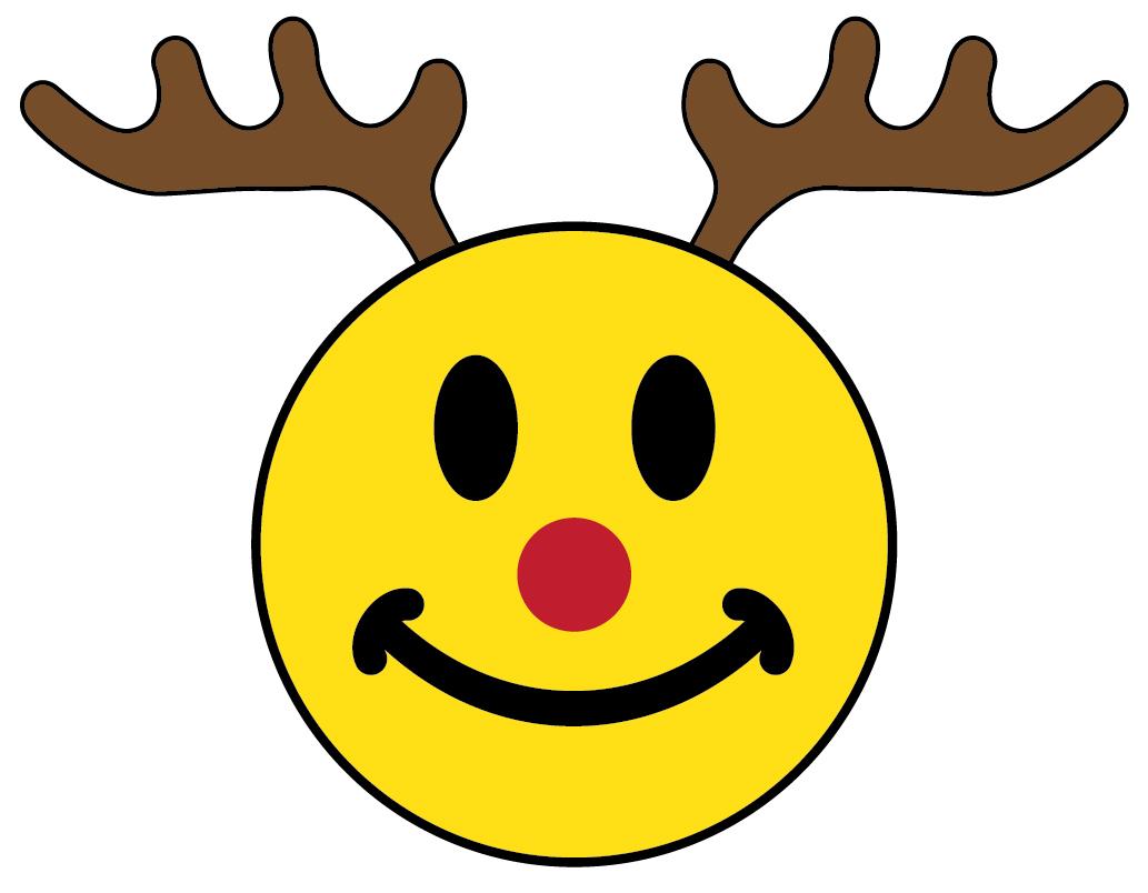 clip art christmas smiley face - photo #17