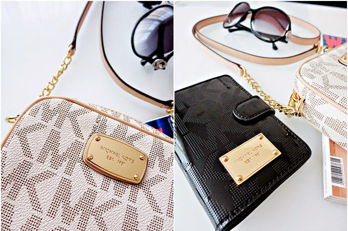 Summer Favorites :: Michael Kors Crossbody Vanilla