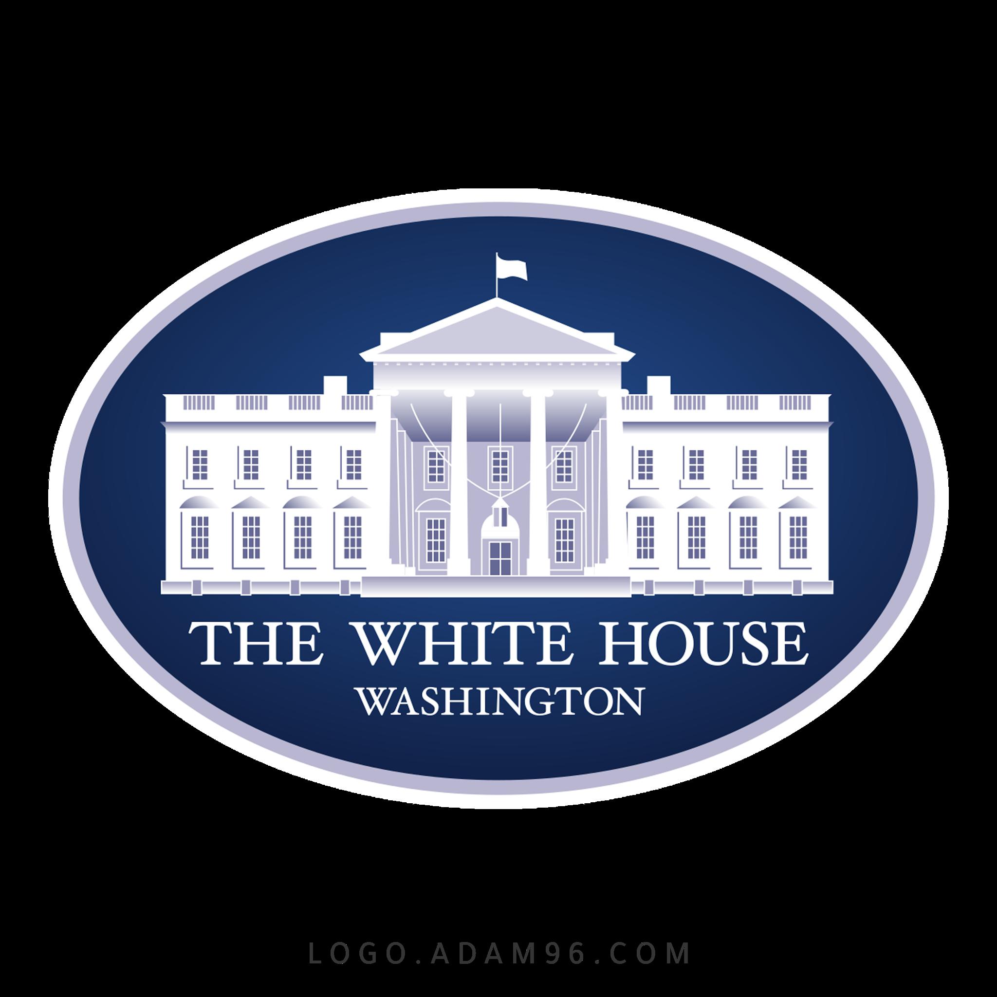 تحميل شعار البيت الابيض لوجو رسمي عالي الجودة Logo White House PNG