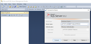 Connect to server SQL 2012