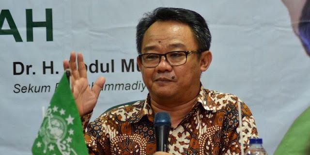 Sekum Muhammadiyah Tolak Masuk Kabinet, Ray Rangkuti: Keren, Punya Prinsip!