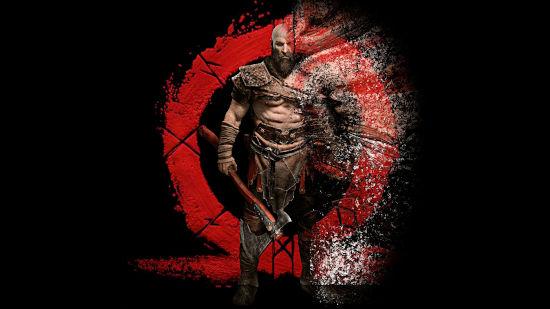 Kratos God of War Artwork - Full HD 1080p