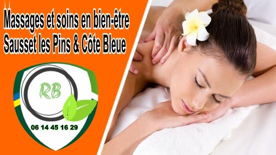 Massages et soins en bien-être;
