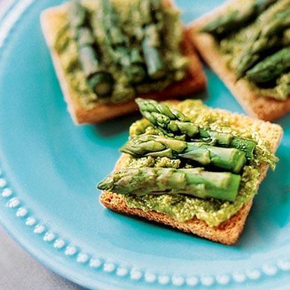 Asparagus-Tip Tea Sandwiches