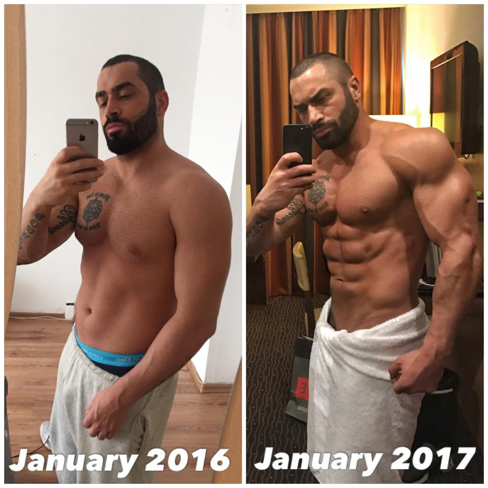 Lazar Angelov Before After Photo