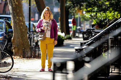 Brittany Runs a Marathon movie still featuring Jillian Bell in New York City