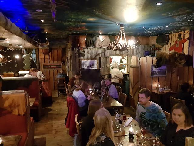 Cena al ristorante Nili a Rovaniemi