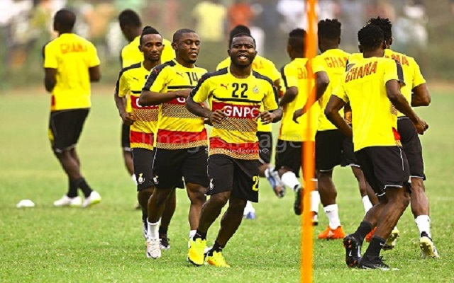 Ghana Black Stars begin training in Nairobi