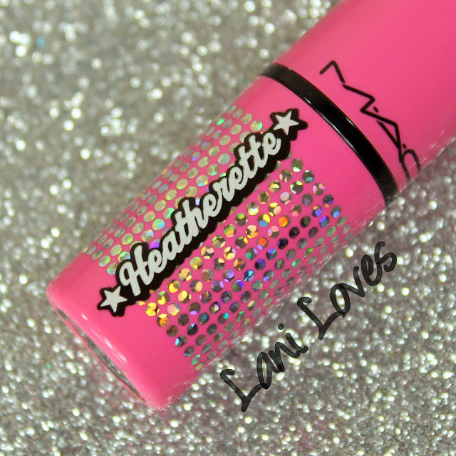 MAC MONDAY   Heatherette - Lollipop Loving and Hollywood Nights Lipsticks Swatches & Review