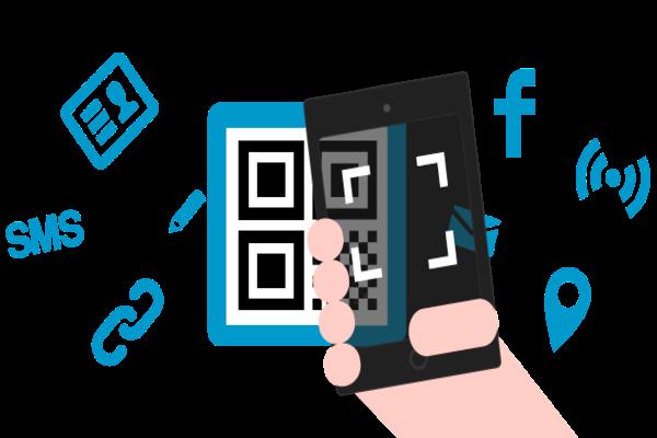 كيفية إنشاء QR Code متصل بجميع الروابط و الحسابات الخاصة بك.
