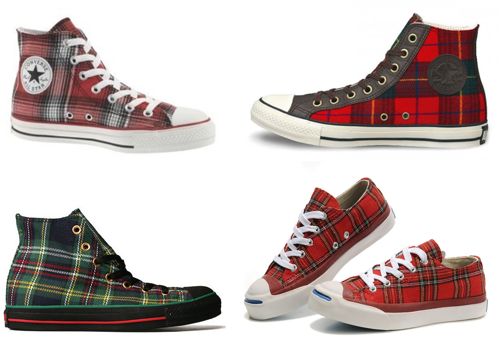 Converse De Cuadros 3chictogo Fall Trend Plaid