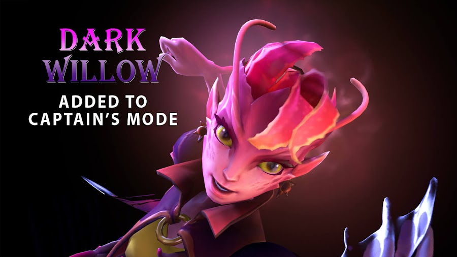 dota 2 dark willow captain mode