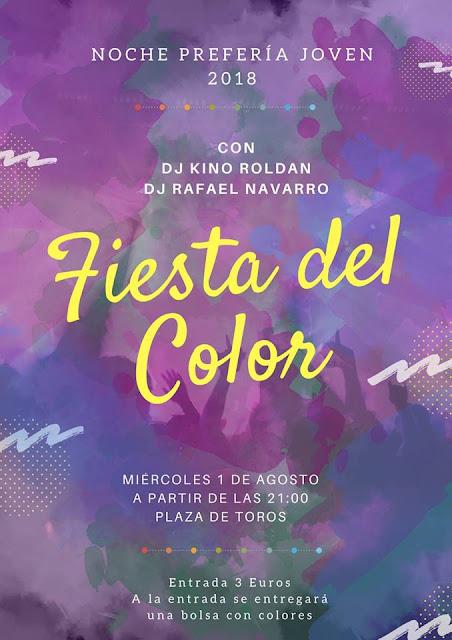 Fiesta del Color en Badolatosa
