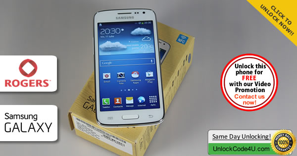 Factory Unlock Code Samsung Galaxy Core LTE from Rogers