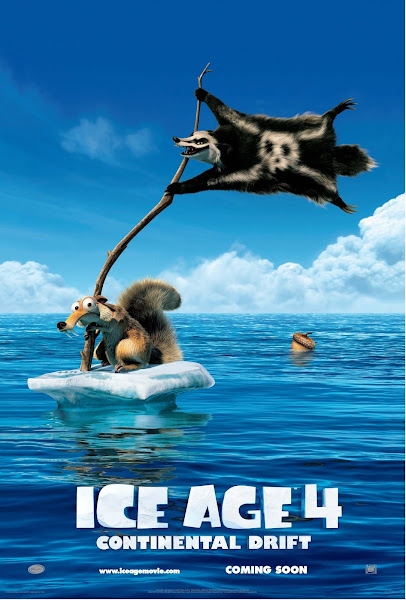 Poster Of Ice Age 4 Continental Drift 2012 720p Hindi BRRip Dual Audio Full Movie