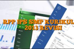 Rencana Pelaksanaan Pembelajaran IPS Terpadu Kelas 8 SMP/MTs Kurikulum 2013 Semester Ganjil