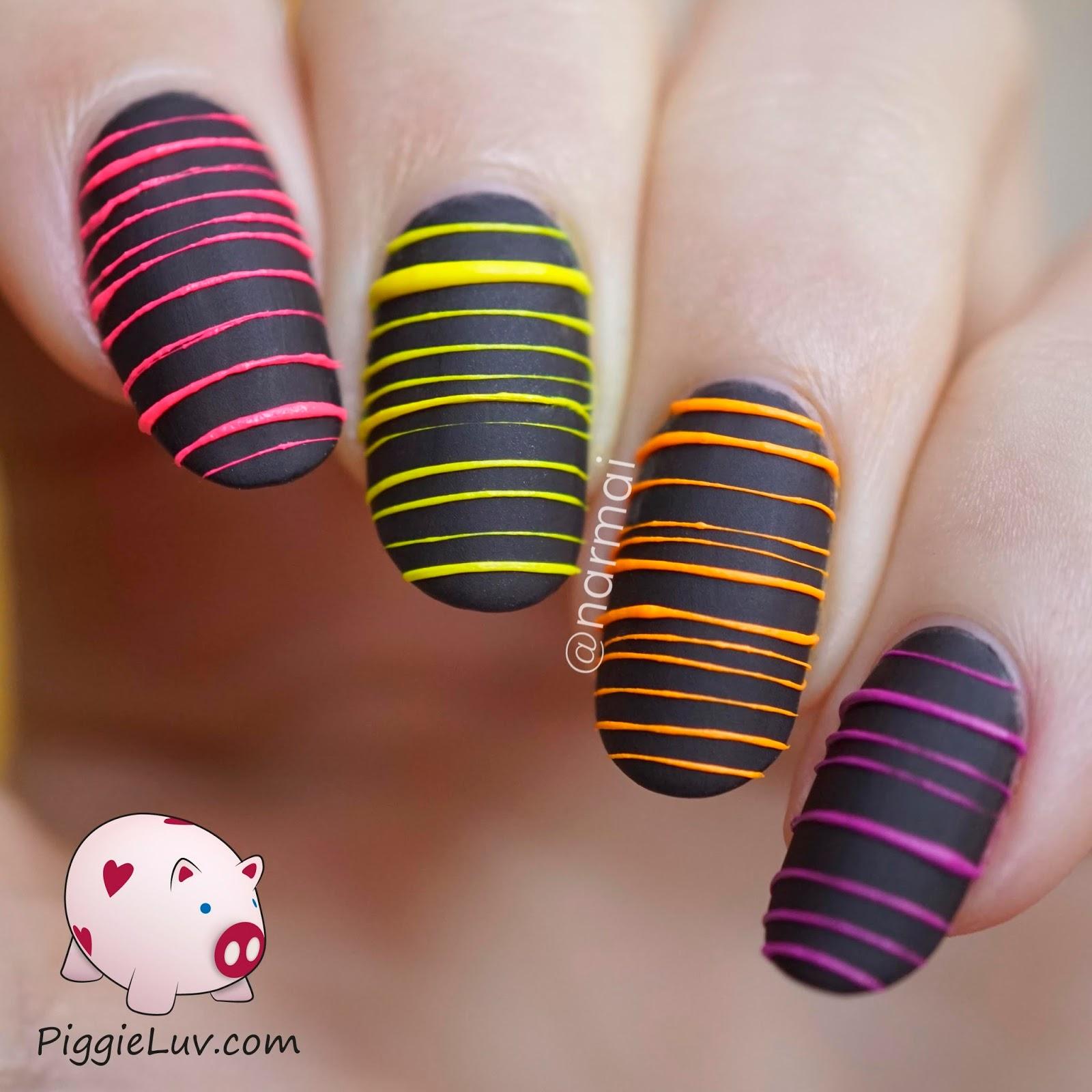 Nail Art Designs Mehandi Designs