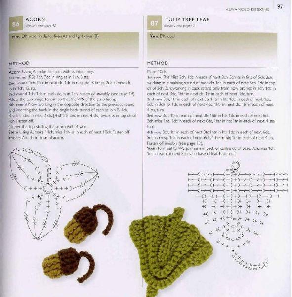 Fantástico Patrón De Crochet Capullo Viñeta - Ideas de Patrones de ...
