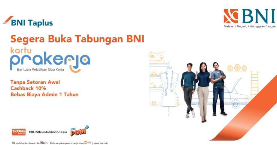 LOGIN e-form.bni.co.id, Buka Rekening BNI Tabungan