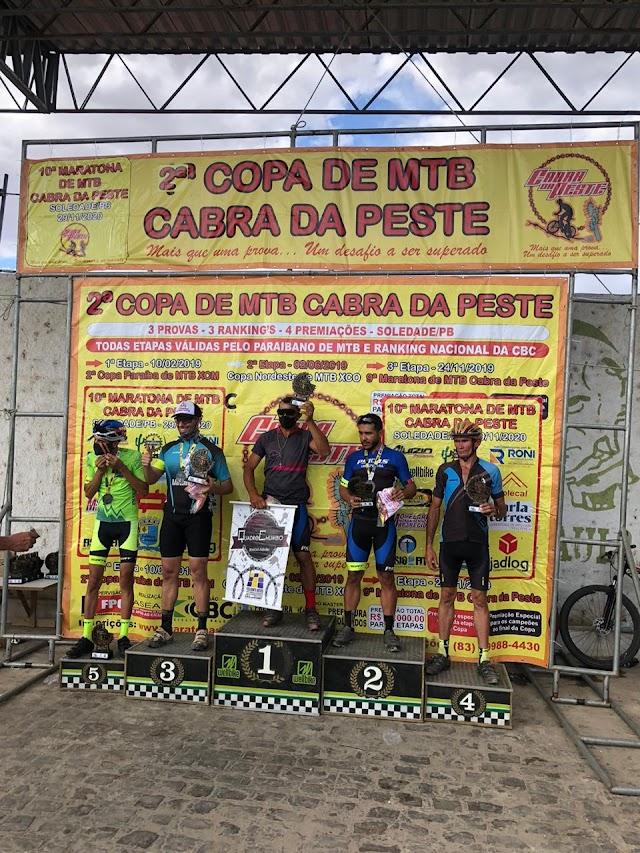Ararenses subiram ao pódio na maratona cabra da peste em Soledade