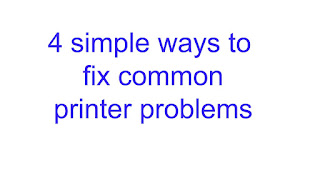 4 simple ways to fix common printer problems 2020