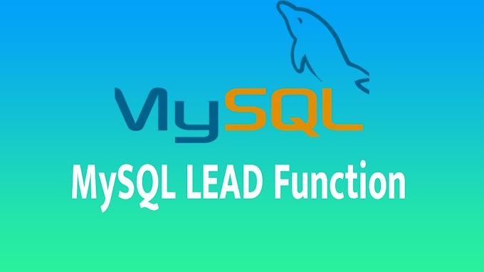 MySQL LEAD Function