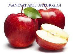 mafaat buah apel untuk memutihkan gigi