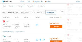 Beragam Harga tiket pesawat ke Lombok