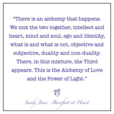 Barefoot at Heart - The Alchemy of Love and the Power of Light - by Sandy Jones