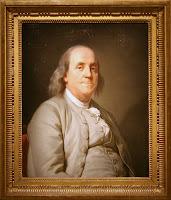 Foto Penemu Lensa Kacamata Benjamin Franklin