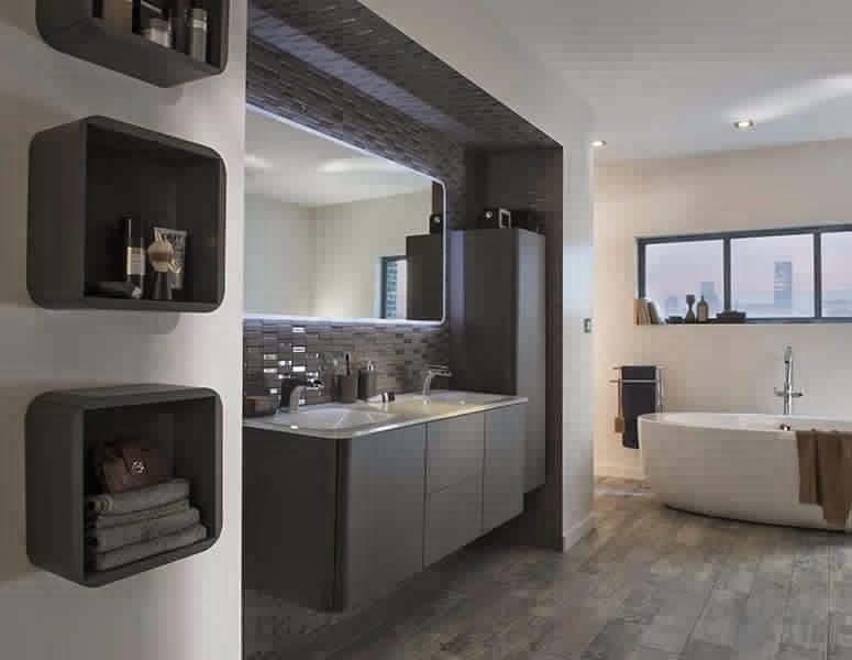 placard salle de bain bois. Black Bedroom Furniture Sets. Home Design Ideas