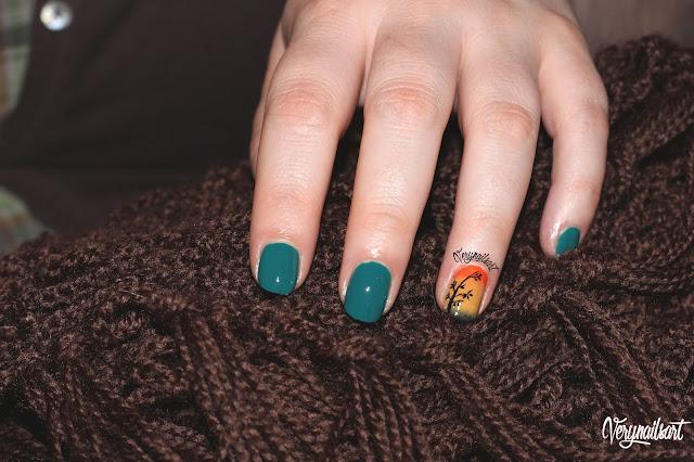 Ombre nail art paso a paso