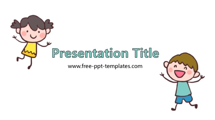 Child PowerPoint Template