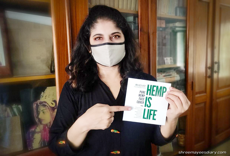 Hemp, face, mask, breathable, sustainable, organic, reusable